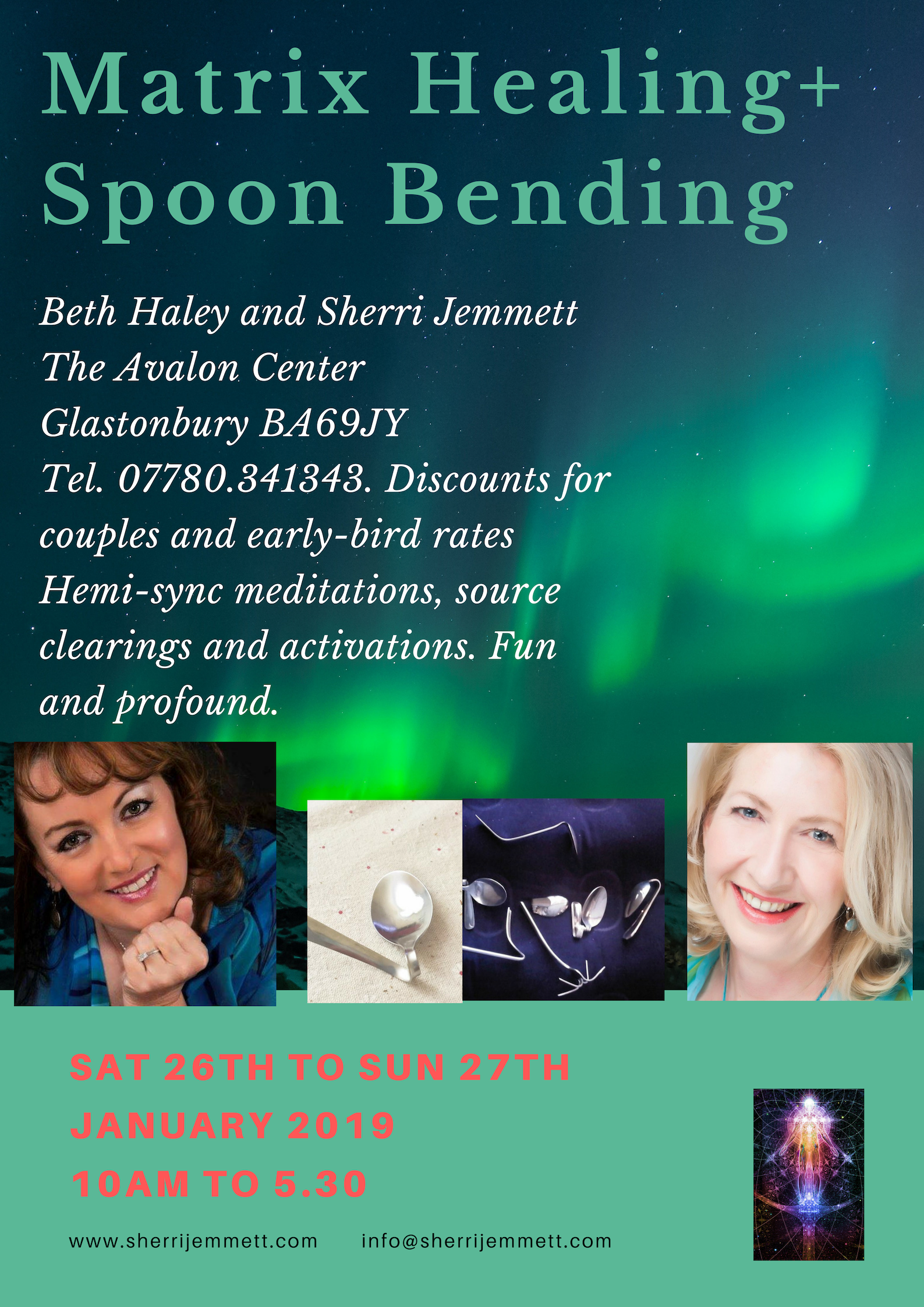 Matrix Healing Spoon Bending
